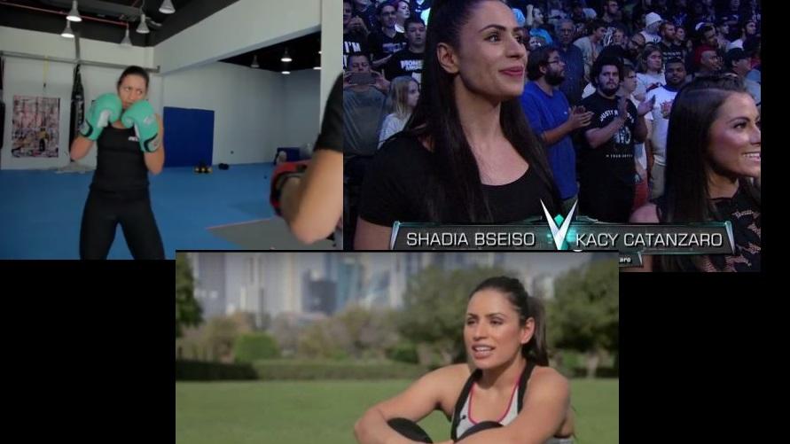 62822dc33 الأردنية (بسيسو).. أول عربية تتدرب لتصبح نجمة المصارعة الحرة WWE (فيديو  وصور)