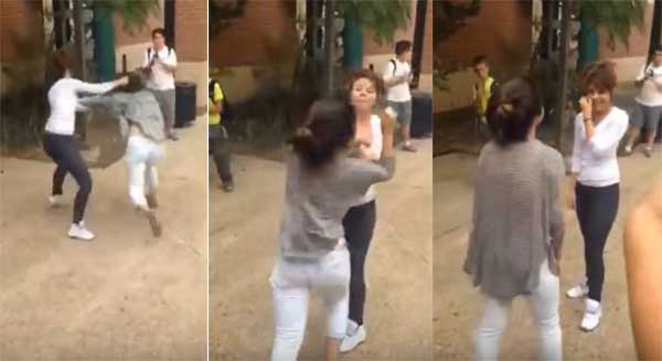 نتيجة بحث الصور عن شجار بين فتاتين